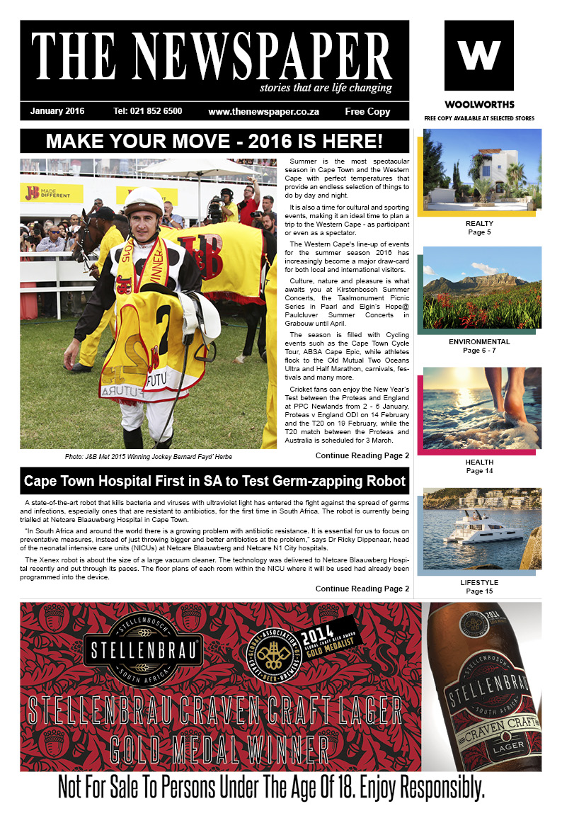 The Newspaper - 25th Edition