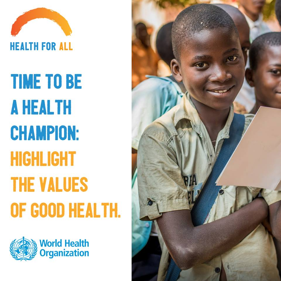 Key messages for World Health Day 2018