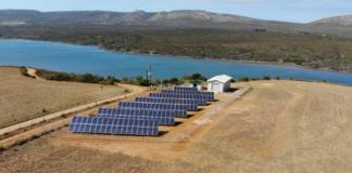 solar desalination plant